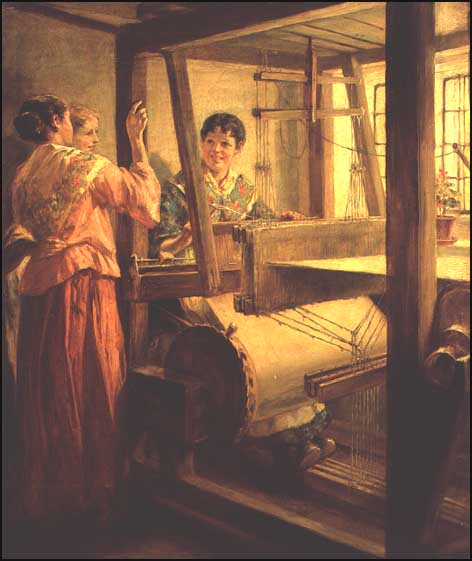 A Romantic Depiction of Weavers - It was not like this!